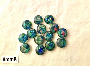 8mm Round Gem Grade - Lot of 14 stones