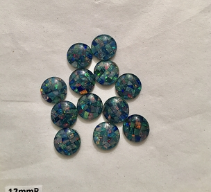 12mm Round Gem Grade - Lot of 12 stones